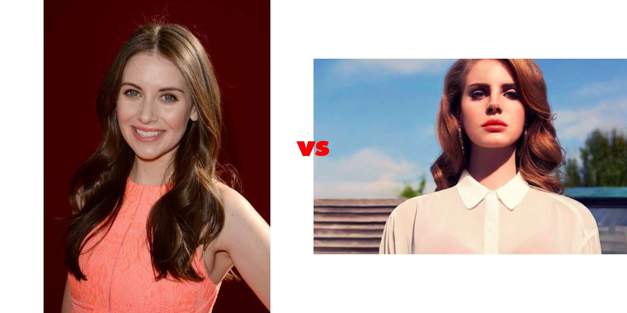 Alison Rey results for alison brie vs lana del rey on the big fat list
