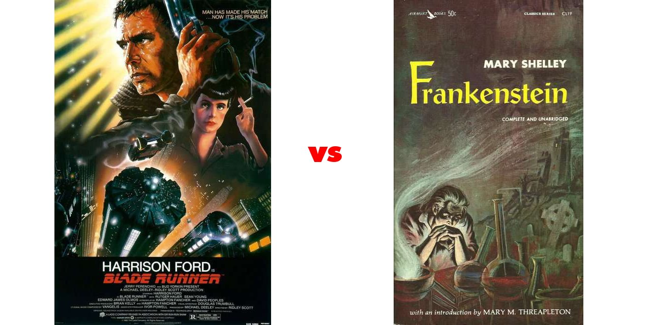 frankenstein blade runnar Analyse how 'frankenstein' and 'blade runner' imaginatively portray individuals who challenge the established values of the time in your response, refer to both excerpts below in your response, refer to both excerpts below.