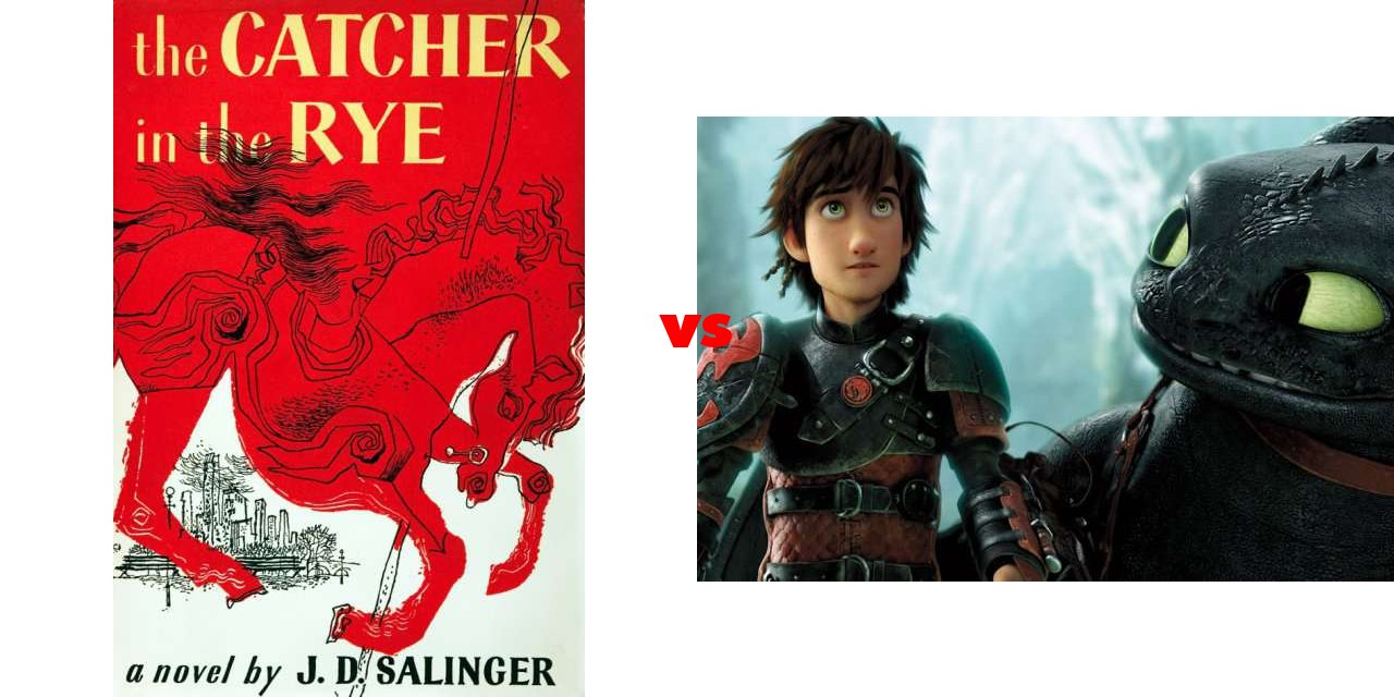 catcher in the rye vs i