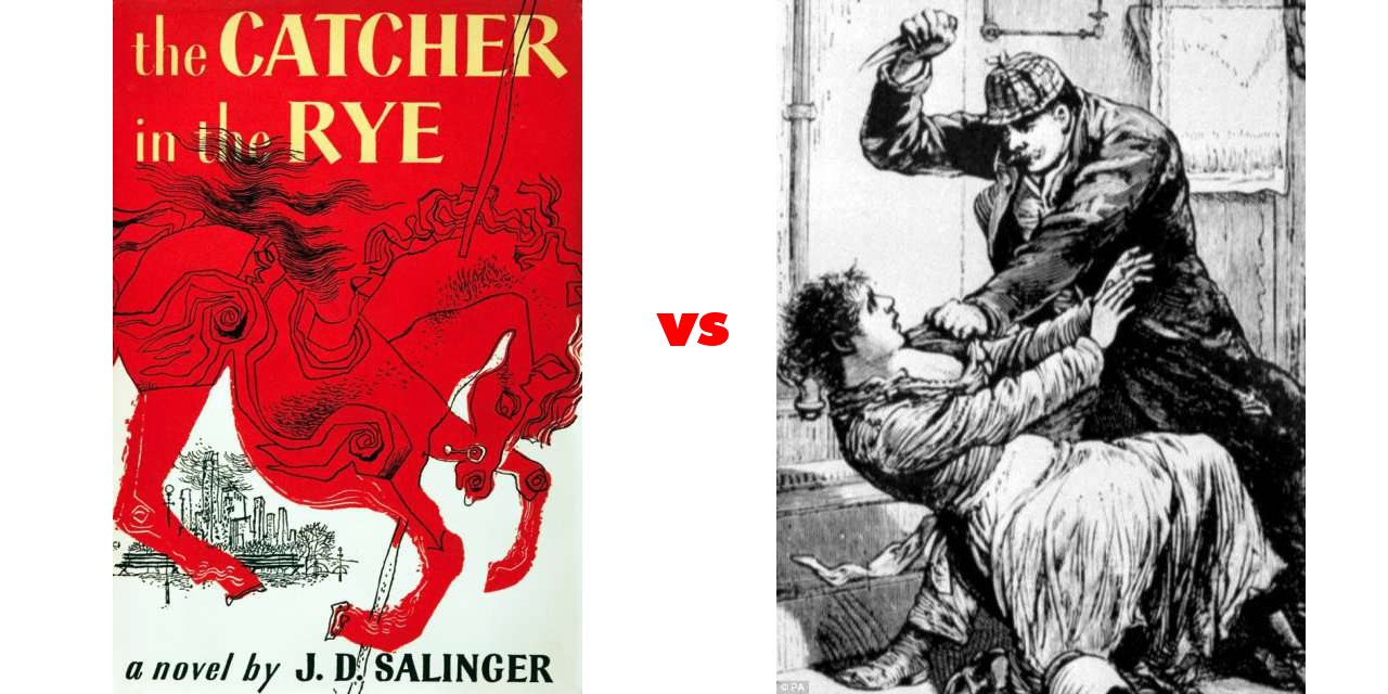 catcher in the rye vs grapes Jd salinger's the catcher in the rye and john steinbeck's the grapes of wrath share a social commentary about how corruptionshow more content so troubled by her lost innocence, holden cannot bring himself to go through with it.