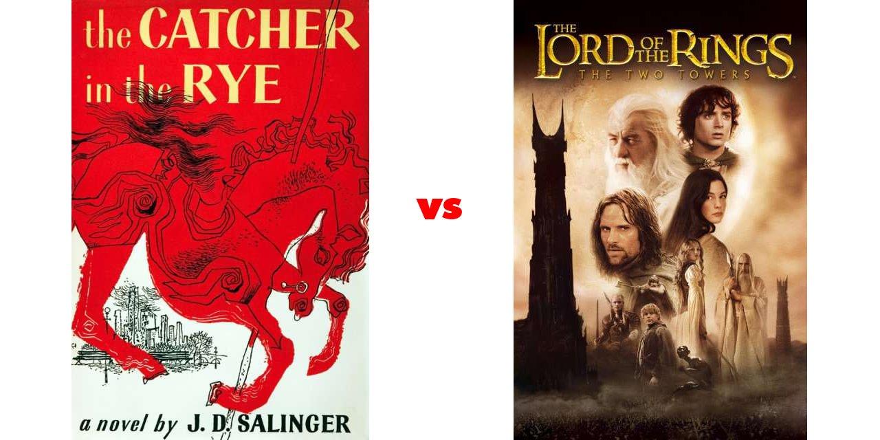 catcher in the rye vs frankenstein