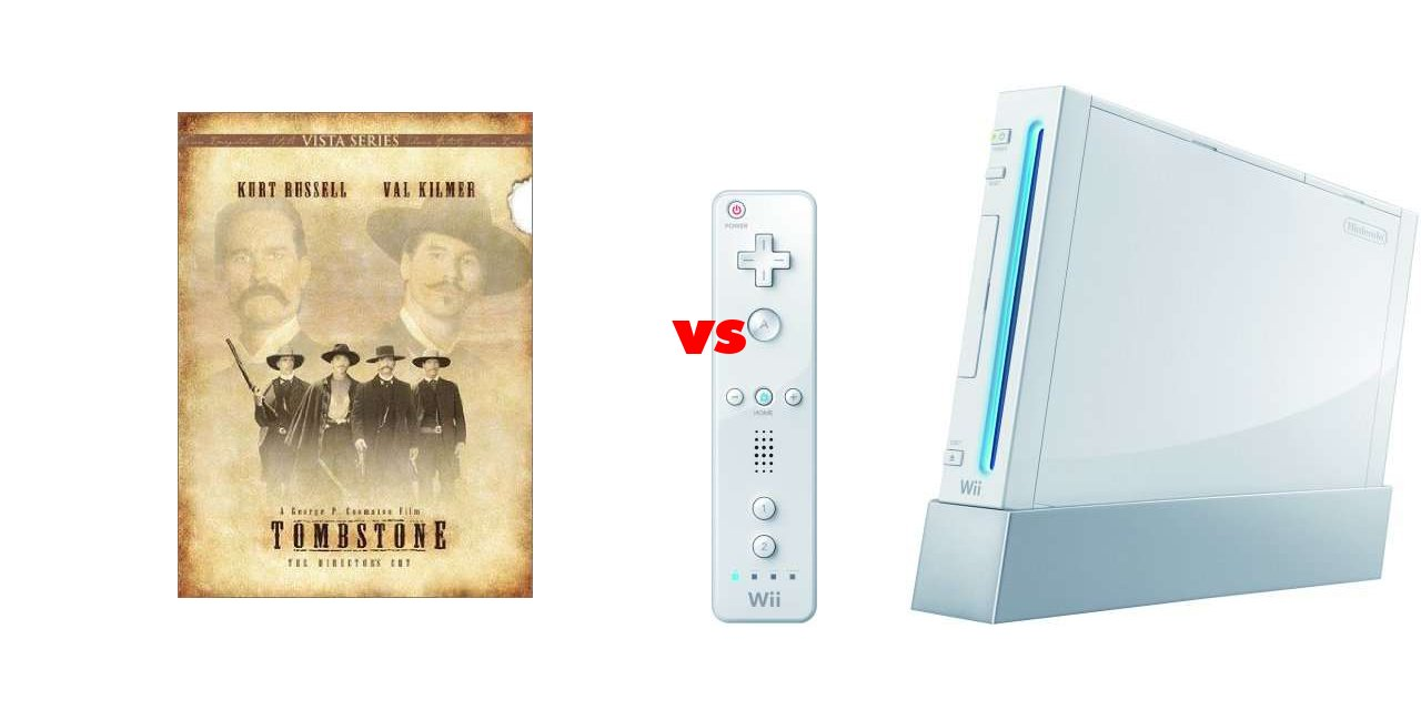 Results For Tombstone Vs Nintendo Wii On The Big Fat List